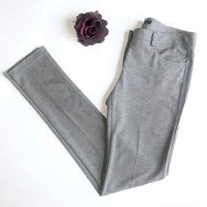 Theory Elly Ponte Knit 4-Pocket Jegging Pant Sz 10